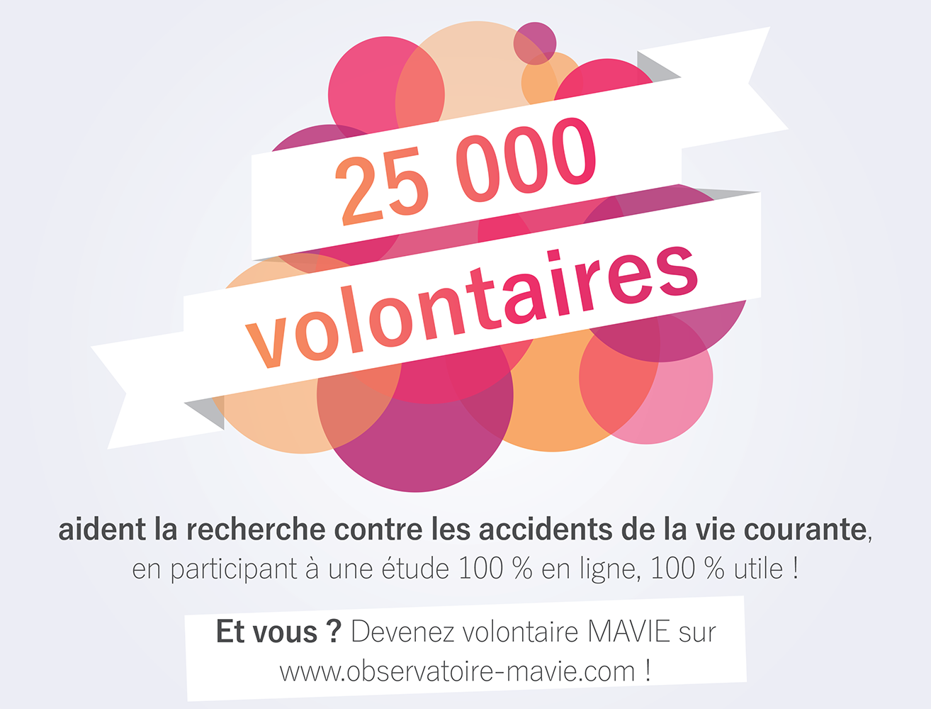 Illustration MAVIE, accidents, volontaires, étude, recherche